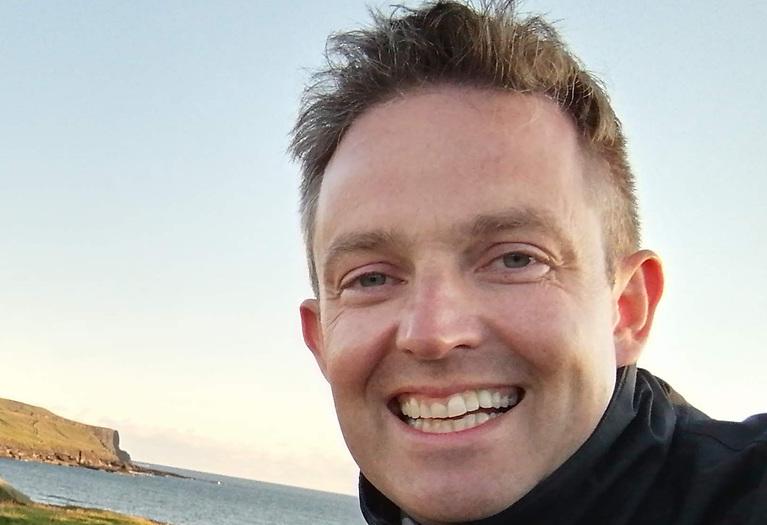 Royal St. George YC Laser class captain, Brendan Hughes