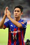 Yoshinori Muto (FC Tokyo), <br /> SEPTEMBER 13, 2014 - <br /> Football /Soccer : <br /> 2014 J.LEAGUE Division 1 match <br /> between F.C. Tokyo 1-1 Vissel Kobe <br /> at Ajinomoto Stadium, Tokyo, Japan. <br /> (Photo by Yohei Osada/AFLO SPORT) [1156]