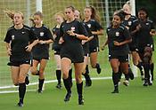 Razorback Women's Soccer Practices 8/16/17