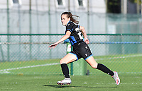 Brugge's Lore Nekkebroeck pictured in action during a female soccer game between the women teams of Club Brugge YLA Dames and Union Saint-Ghislain Tertre-Hautrage Ladies on the 1/16 th qualifying round for the Belgian Womens Cup 2020  2021 , on saturday 26 th of September 2020  in Brugge , Belgium . PHOTO SPORTPIX.BE | SPP | DAVID CATRY