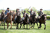 In an unsanctioned race at Great Meadow, the Black Horse Cavalry wins in a walkover.
