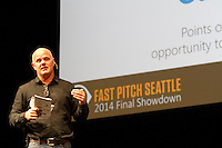 The SVP Fast Pitch Seattle competition held in McCaw Hall on Oct. 23, 2014. <br />  (photo by Karen Ducey/ KarenDucey.com)