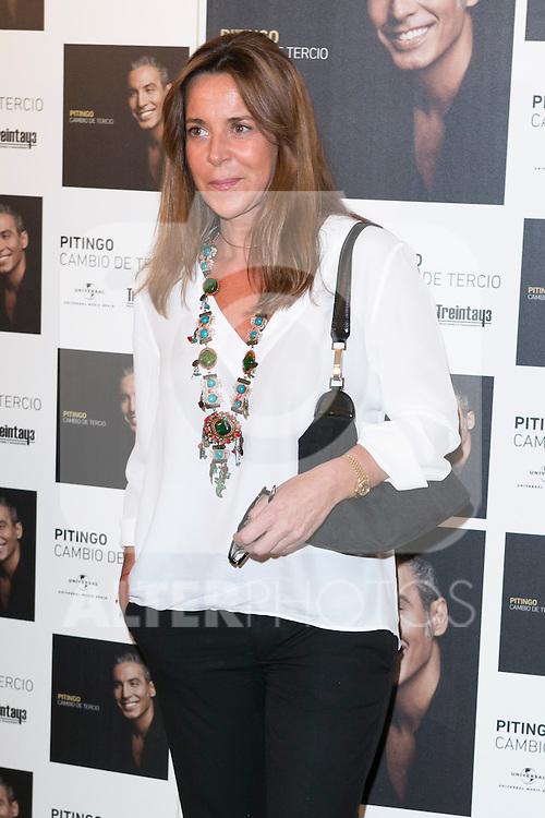 "Blanca Martinez De irujo attend the photocall of the presentation of the new Pitingo´s Album in the ""Colegio de médicos"" Madrid, Spain. June 2, 2014. (ALTERPHOTOS/Carlos Dafonte)"