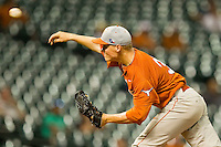 Starting pitcher Nathan Thornhill #36 of the Texas Longhorns delivers a pitch to the plate against the Rice Owls at Minute Maid Park on March 2, 2012 in Houston, Texas.  The Longhorns defeated the Owls 11-8.  Brian Westerholt / Four Seam Images