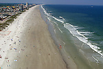 Jacksonville Beach, Florida - view north - ROV/Blimp aerial