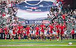 Hong Kong vs Tunisia during the Cathay Pacific / HSBC Hong Kong Sevens at the Hong Kong Stadium on 28 March 2014 in Hong Kong, China. Photo by Andy Jones / Power Sport Images