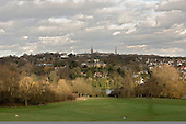 Highgate, viewed from Parliament Hill, London.