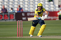 Joe Weatherley in bowling action for Essex during Essex Eagles vs Hampshire Hawks, Vitality Blast T20 Cricket at The Cloudfm County Ground on 11th June 2021