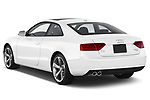Car pictures of rear three quarter view of 2014 Audi A5 Premium Quattro 2 Door Coupe angular rear