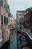 Venice:  3 minute walk--6.  From Ponte Dei Sartori.  Photo '83.