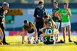 after the Munster Football Championship game between Kerry and Clare at Fitzgerald Stadium, Killarney on Saturday.