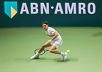 Rotterdam, The Netherlands, 18 Februari, 2018, ABNAMRO World Tennis Tournament, Ahoy, Singles final, Roger Federer (SUI) <br /> <br /> Photo: www.tennisimages.com