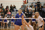 Boswell loses to Colleyville Heritage in the 5A volleyball state quarter final round at Richland High School in North Richland Hills on Tuesday, November 7, 2017. (photo by Khampha Bouaphanh)