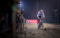 Mathieu van der Poel (NED/Corendon-Circus) in the sandbox<br /> <br /> men's race<br /> 44th Superprestige Diegem (BEL) 2018<br /> ©kramon