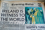 A collection of newspapers and magazines from the 1930's onwards from a collection by Sean Dineen in Connolly park..