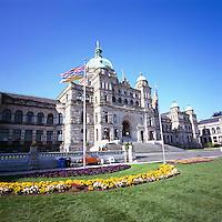 BC Parliament Buildings, Victoria, BC, Vancouver Island, British Columbia, Canada
