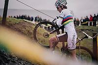 CX World Champion Sanne Cant (BEL/IKO-Beobank)<br /> <br /> Superprestige cyclocross Hoogstraten 2019 (BEL)<br /> Women's Race<br /> <br /> ©kramon
