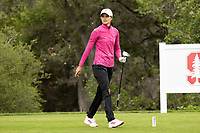 STANFORD, CA - APRIL 25: Alessandra Forsterling at Stanford Golf Course on April 25, 2021 in Stanford, California.