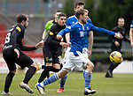 St Johnstone v Livingston…15.05.21  SPFL McDiarmid Park<br />David Wotherspoon and Scott Pittman<br />Picture by Graeme Hart.<br />Copyright Perthshire Picture Agency<br />Tel: 01738 623350  Mobile: 07990 594431