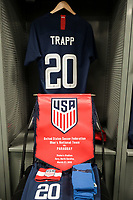 Cary, N.C. - Tuesday March 27, 2018: USMNT locker room Wil Trapp during an International friendly game between the men's national teams of the United States (USA) and Paraguay (PAR) at Sahlen's Stadium at WakeMed Soccer Park.