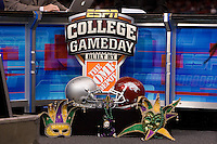 Sugar Bowl College Game Day during 77th Annual Allstate Sugar Bowl Classic at Louisiana Superdome in New Orleans, Louisiana on January 4th, 2011.  Ohio State defeated Arkansas, 31-26.