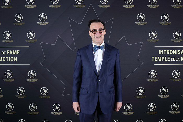 Vancouver, B.C. - November 15th, 2019 - Marc-Andre Fabien at the 2019 Canadian Paralympic Hall of Fame Induction Ceremony. Photo: Lydia Nagai/Canadian Paralympic Committee