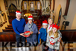 Rev Jim Stephens, Suzie Keating, Anna Chute, Ann Kane and Sarah Chute at the launch of St John's Christmas Fair on Tuesday.