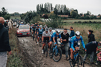 2nd October 2021, Paris–Roubaix Cycling tour; The first ever women's edition of Paris Roubaix which is famous for its uneven cobblestone course.