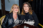 Helen O'Leary from Tralee celebrating her birthday in the Grand Hotel on Friday, l to r: Helen O'Leary and Cheyenne Cunningham.