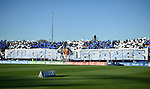 Fans of CD Leganes cheers prior to the La Liga 2017-18 match between CD Leganes vs FC Barcelona at Estadio Municipal Butarque on November 18 2017 in Leganes, Spain. Photo by Diego Gonzalez / Power Sport Images