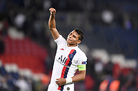 celebration - FAIR PLAY - 02 THIAGO SILVA (PSG)<br /> Parigi 18-9-2019 <br /> Paris Saint Germain - Real Madrid  <br /> Champions League 2018/2019<br /> Foto Panoramic / Insidefoto <br /> Italy Only