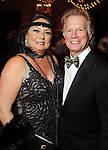 Deborah and Burt Ginsburg at the SPA's Forever Paris Gala at the Wortham Theater Saturday March 29, 2014.(Dave Rossman photo)