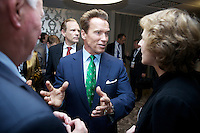 Zerokonferansen 2011, 21.-22. november 2011. Arnold Schwarzenegger. Foto: Eirik Helland Urke