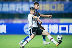 FC Schalke Midfielder Amine Harit (R) fights for the ball with Besiktas Istambul Defender Matej Mitrovic (L) during the Friendly Football Matches Summer 2017 between FC Schalke 04 Vs Besiktas Istanbul at Zhuhai Sport Center Stadium on July 19, 2017 in Zhuhai, China. Photo by Marcio Rodrigo Machado / Power Sport Images