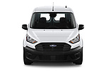 Car photography straight front view of a 2021 Ford Transit-Connect XL 4 Door Car Van Front View