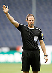 Referee Harald Lechner during friendly match. June 1,2016.(ALTERPHOTOS/Acero)