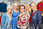 Nicola Collins, Ellen Lynch, Liz Heaslip, Majella Stack and Geraldine Savage at the fashion show fundraiser in Carraig Donn for the Chemotherapy Unit at UHK on Friday.