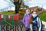 Patricia Enright with Aoibhin Enright Barry, , Tarbert at Tarbert Comprehensive school on Wednesday.