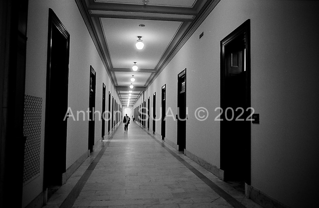 Washington DC.District of Columbia.USA.February 5, 2007..The halls of Congress.....