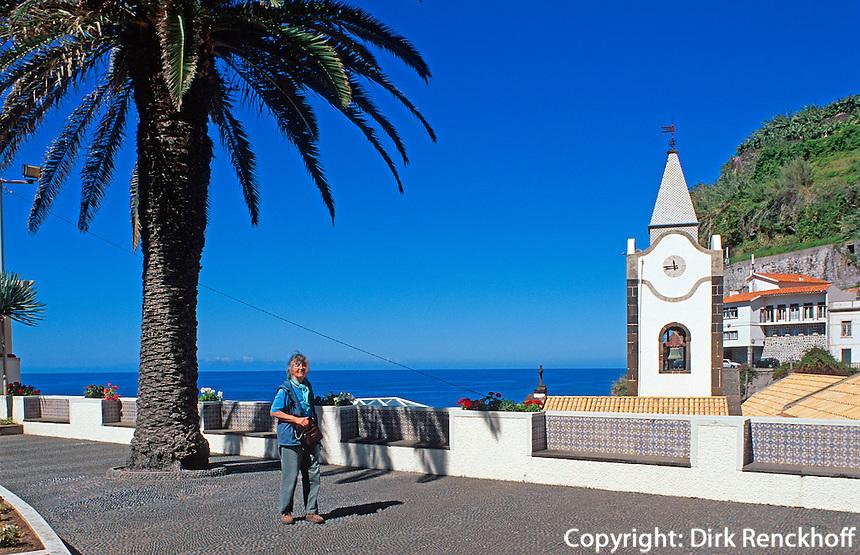 Portugal, Madeira, Kirche Nossa Senhora de la Luz in Ponta do Sol