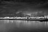 Helensburgh at dawn which sits at the outflow of the River Clyde on the Firth of Clyde, Argyll & Bute.