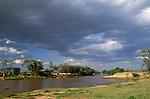 Samburu River, Samburu National Reserve, Kenya