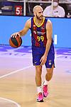 Liga ENDESA 2020/2021. Jornada: 32.<br /> FC Barcelona vs Baxi Manresa: 97-89.<br /> Nick Calathes.