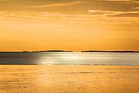 Sunrise at the Burrup Peninsula, Western Australia