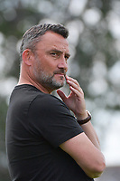 headcoach Frank Haise of Rc Lens pictured during a friendly soccer game between Racing Club De Lens and Standard de Liege  during the preparations for the 2021-2022 season , on wednesday 7 of July 2021 in Billy Montigny , France . PHOTO DIRK VUYLSTEKE   SPORTPIX