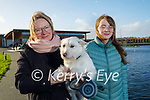 Enjoying a stroll in the Tralee Bay Wetlands on Sunday l to r: Violet and Camesha Leen