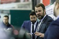 Photo d'archive de<br />  Guillaume Latendresse entraineur chef des Riverains LHMAAAQ<br /> depuis sont arrivée en 2014 - incluant conférence de presse.<br /> <br /> PHOTO : Agence Quebec Presse