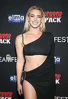 HOLLYWOOD, CA - OCTOBER 12: Skylar Benton, at the 21st Screamfest Opening Night Screening Of The Retaliators at Mann Chinese 6 Theatre in Hollywood, California on October 12, 2021. Credit: Faye Sadou/MediaPunch