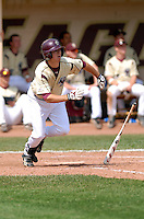 Boston College Eagles OF Andrew Lawrence in action vs. NC Tar Heels at Shea Field March 28, 2009 in Chestnut Hill, MA (Photo by Ken Babbitt/Four Seam Images)