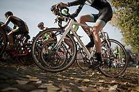 U23 race up the infamous Koppenberg cobbles<br /> <br /> 25th Koppenbergcross 2016